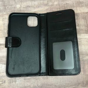FOR IPHONE 11 - Black Cell Phone Wallet